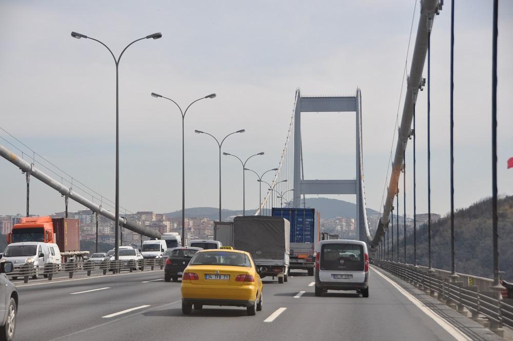 Brücke über Bosporus Istanbul