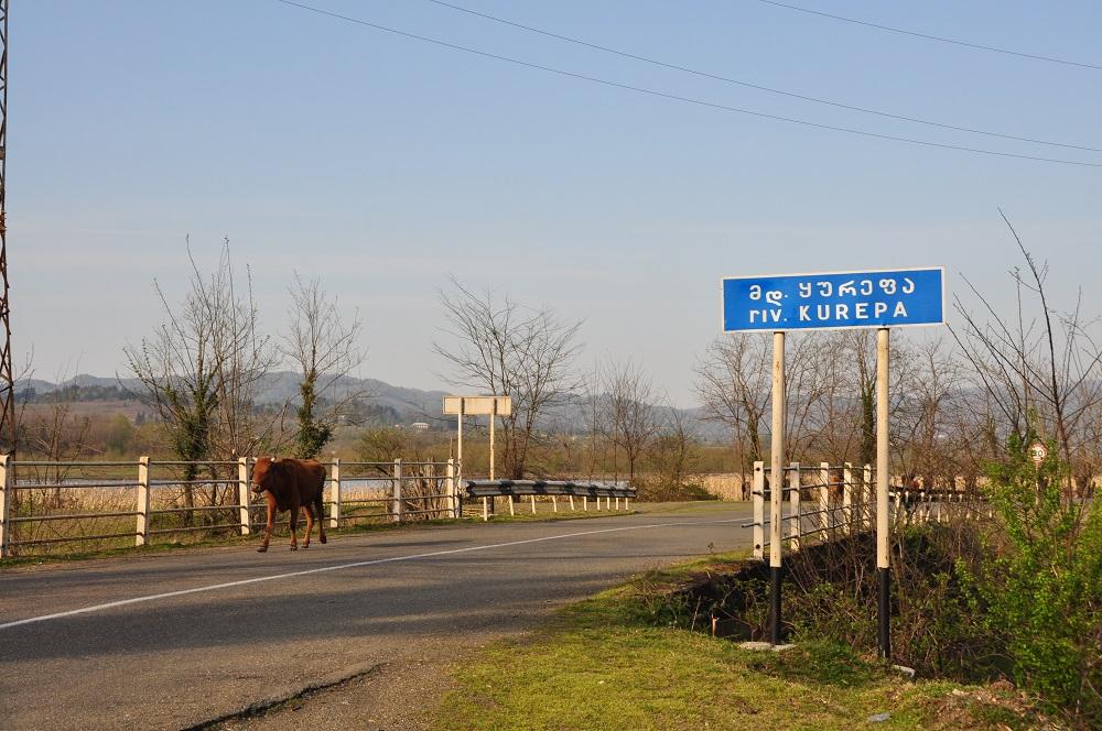 georgisches Verkehrsschild
