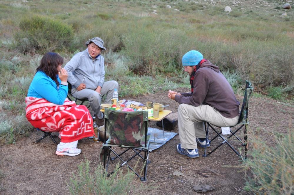 Abendessen Tobi, Urka, Ogi