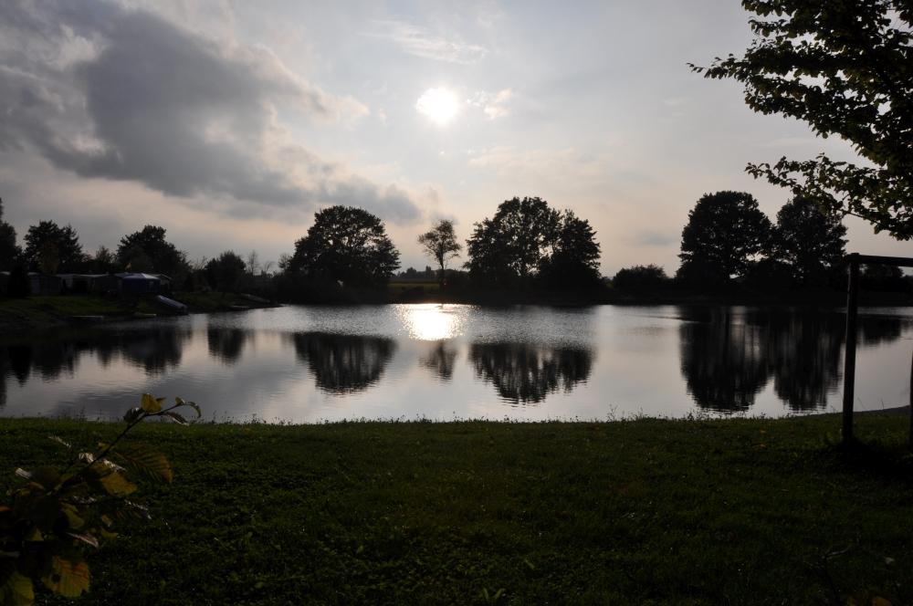 Abendstimmung kleiner See
