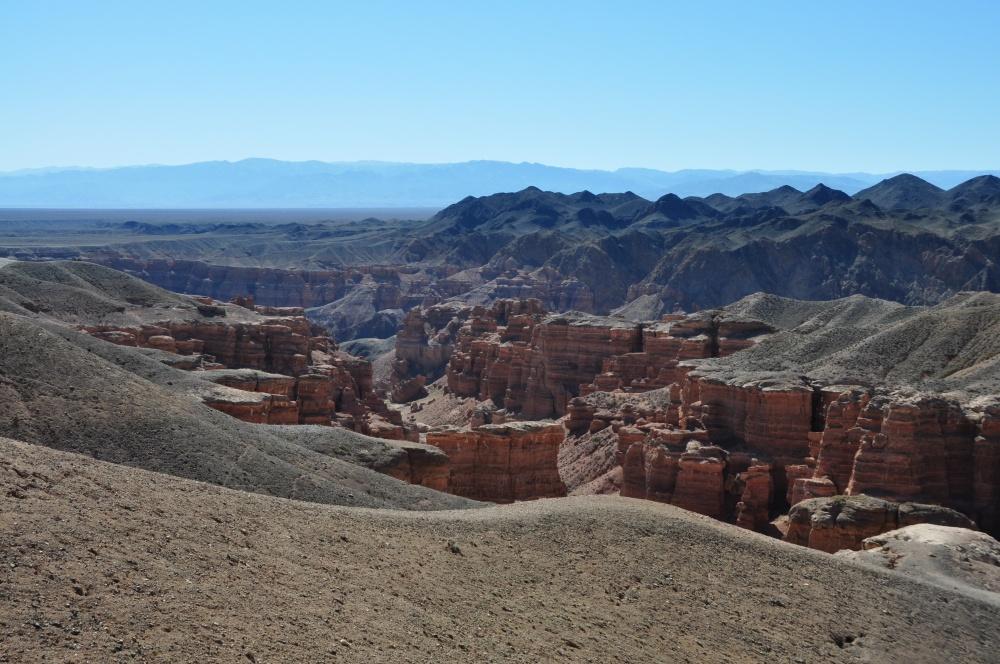 Aussicht auf den Charyn Canyon