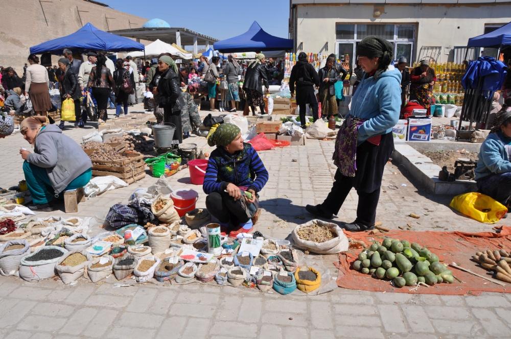 Baazar von Khiva