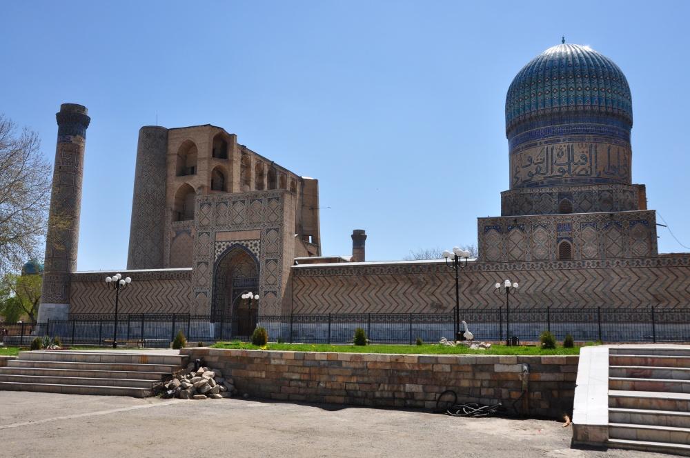 Bibi-Khanym Moschee, Samarkand