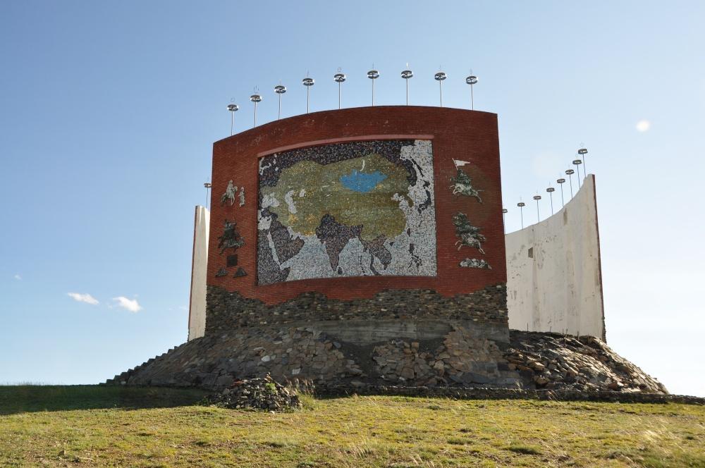 Denkmal Nähe von Kharkhorin
