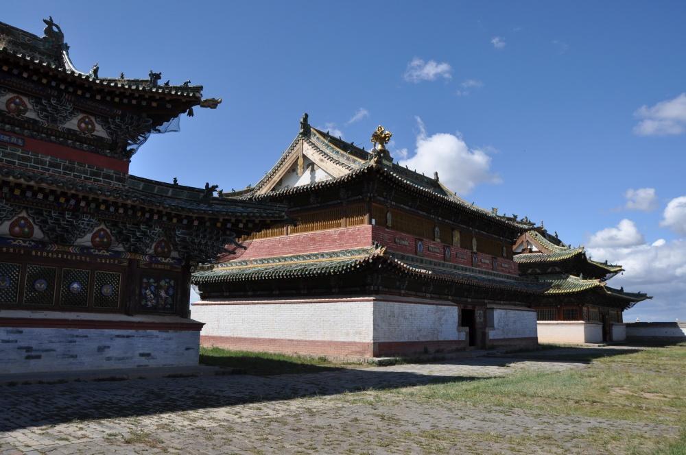 Drei Tempel bei Erdene Zuu