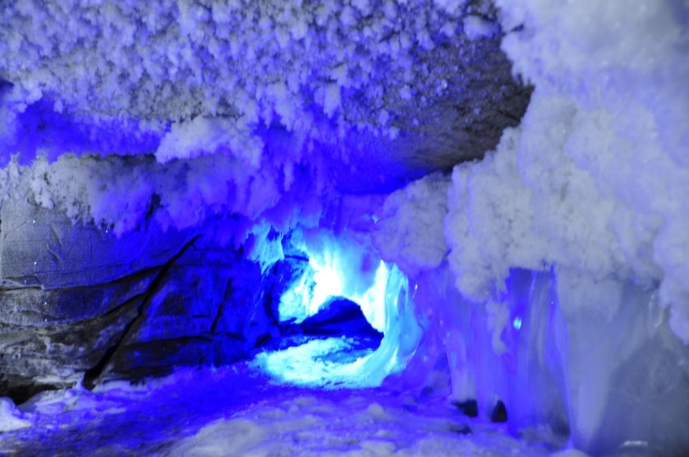 Eishöhle bei Kungur