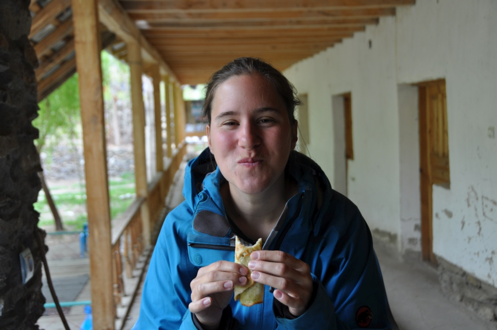 Fränzi isst Omlette