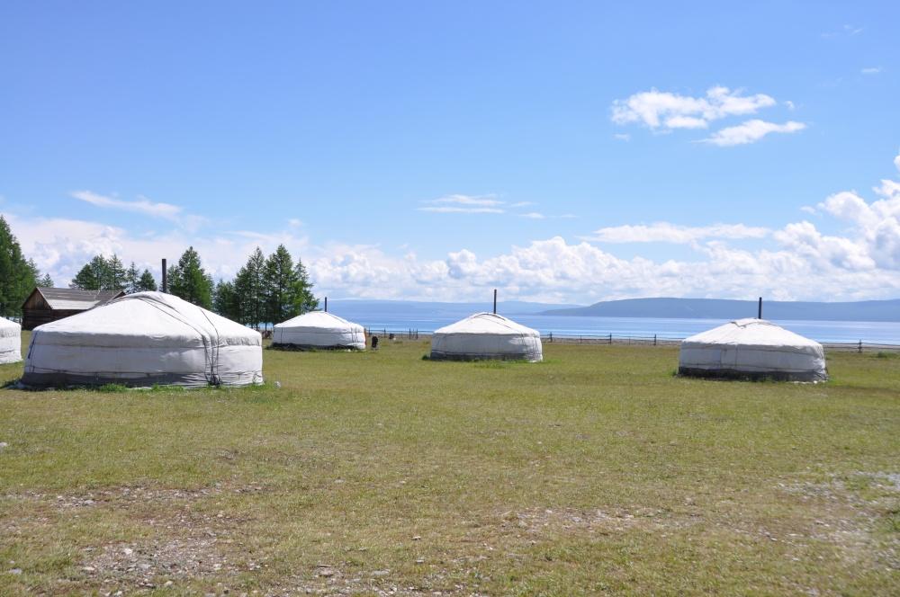 Jurtencamp am Khövsgöl Nuur