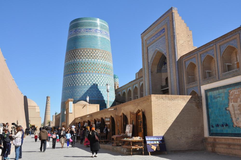 Kalta Minor Minarett in Khiva