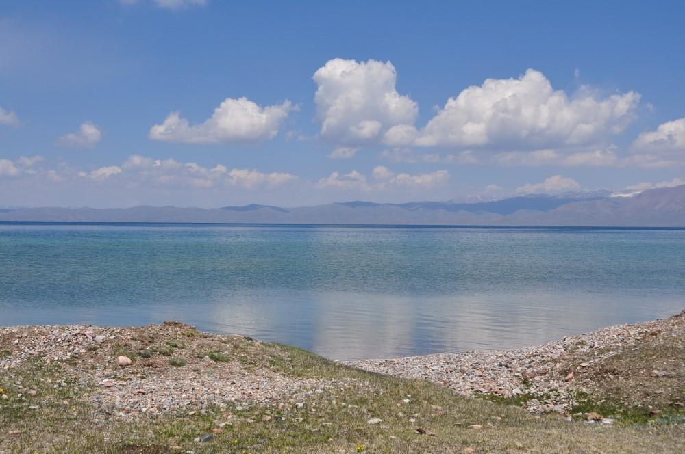 Klarer See, Wolken am Himmel