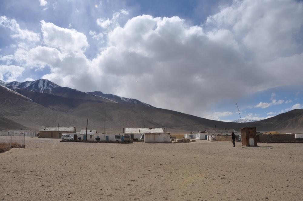 Kleines Dorf in Tadschikistan
