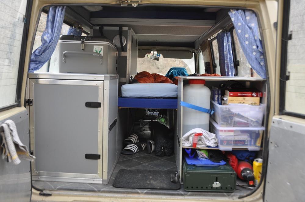 Land Cruiser Reisefahrzeug Notbett