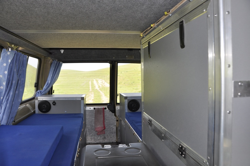 Land Cruiser Reisefahrzeug Wohnraum