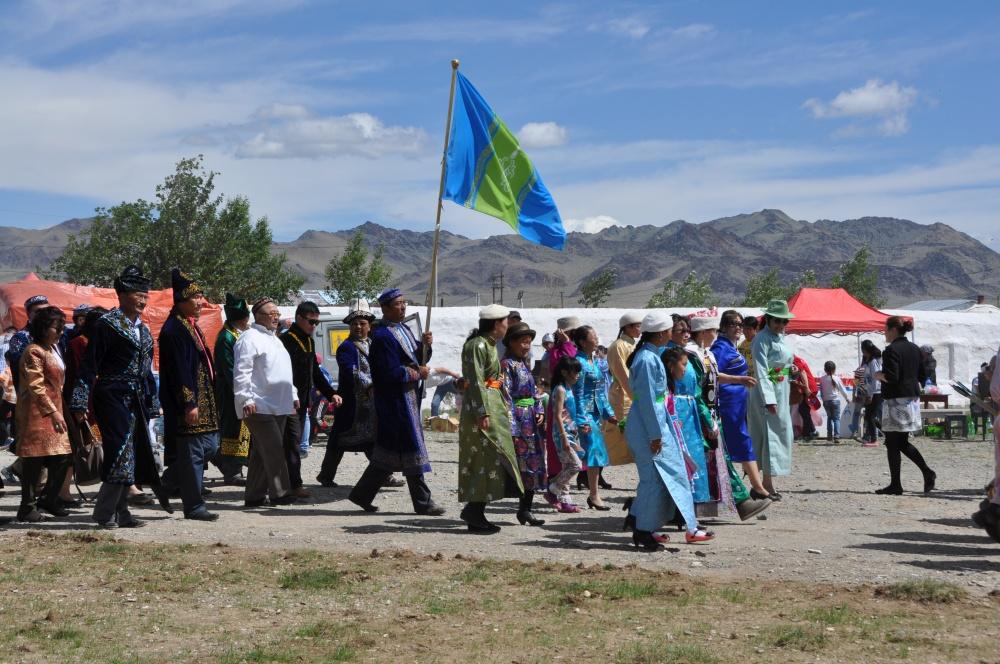 Mongolen in Deel