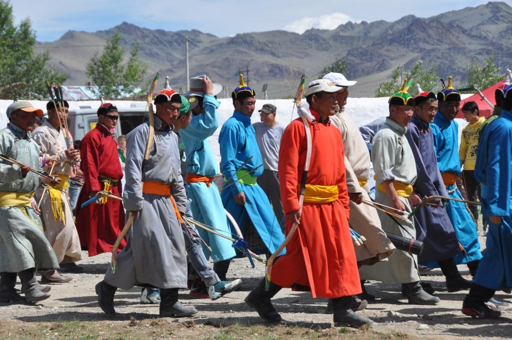 Mongolische Bogenschützen