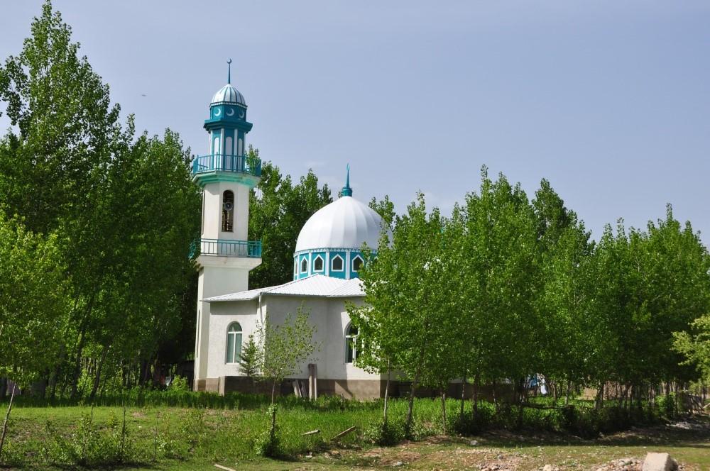 Moschee im Grünen