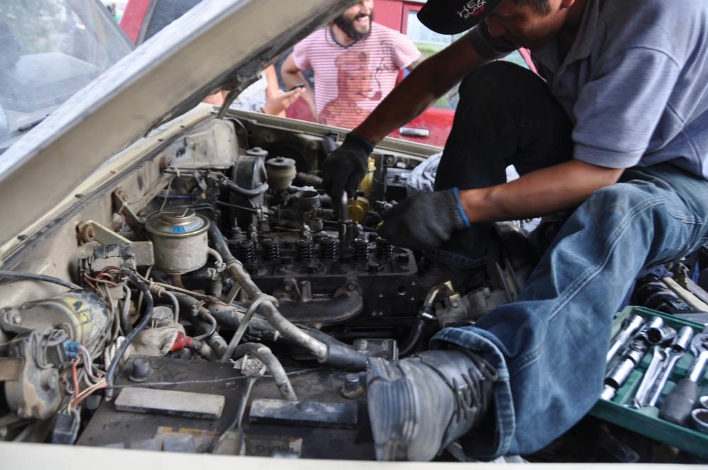 Motor vom Manny