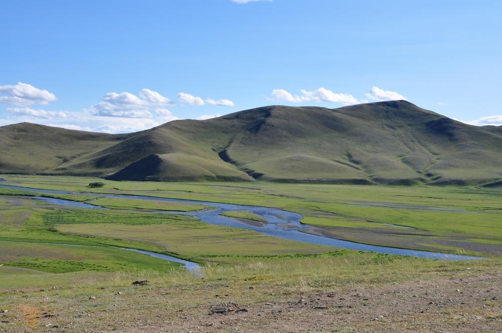 Orchonfluss bei Kharkhorin