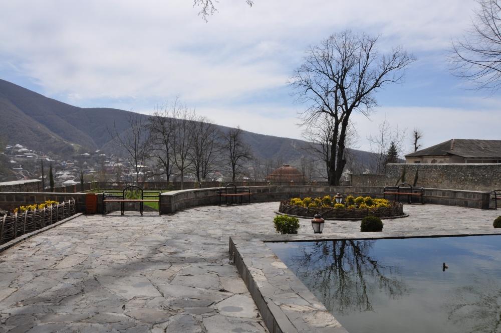 Palastgarten des Khans