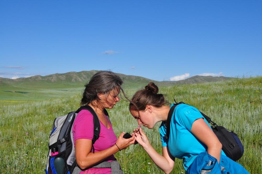 Priska, Fränzi in der Mongolei