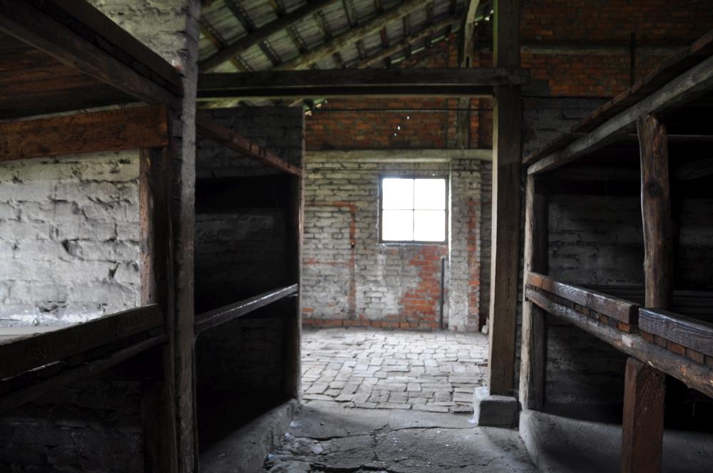 Schlafbaracke Konzentrationslager Auschwitz-Birkenau