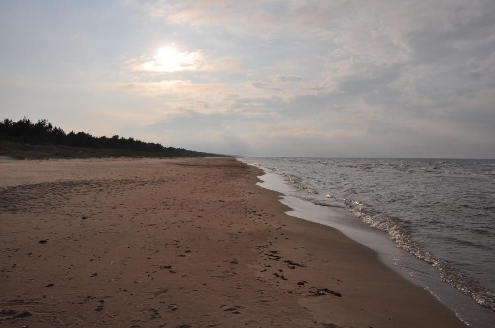 Strand Ostsee Lettland