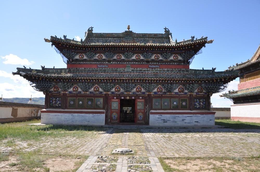 Tempel bei Erdene Zuu