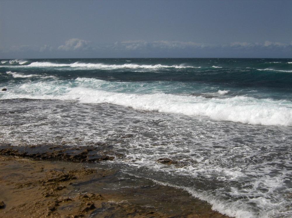 Indische Ozean bei St. Lucia