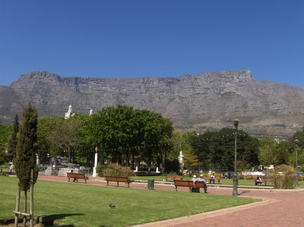 Company's Garden und Tafelberg