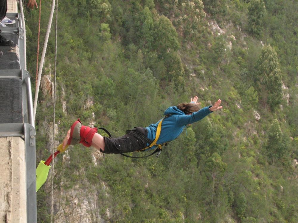 Fränzi Bungee Jump