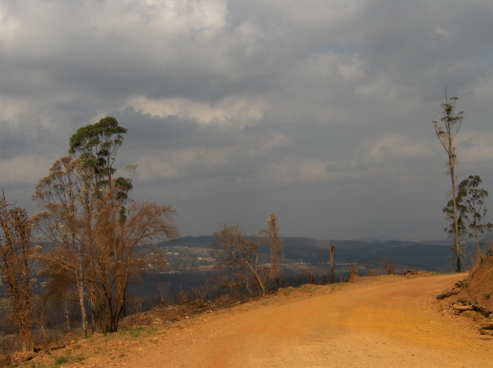 Gewitterstimmung unterwegs durch Swasiland