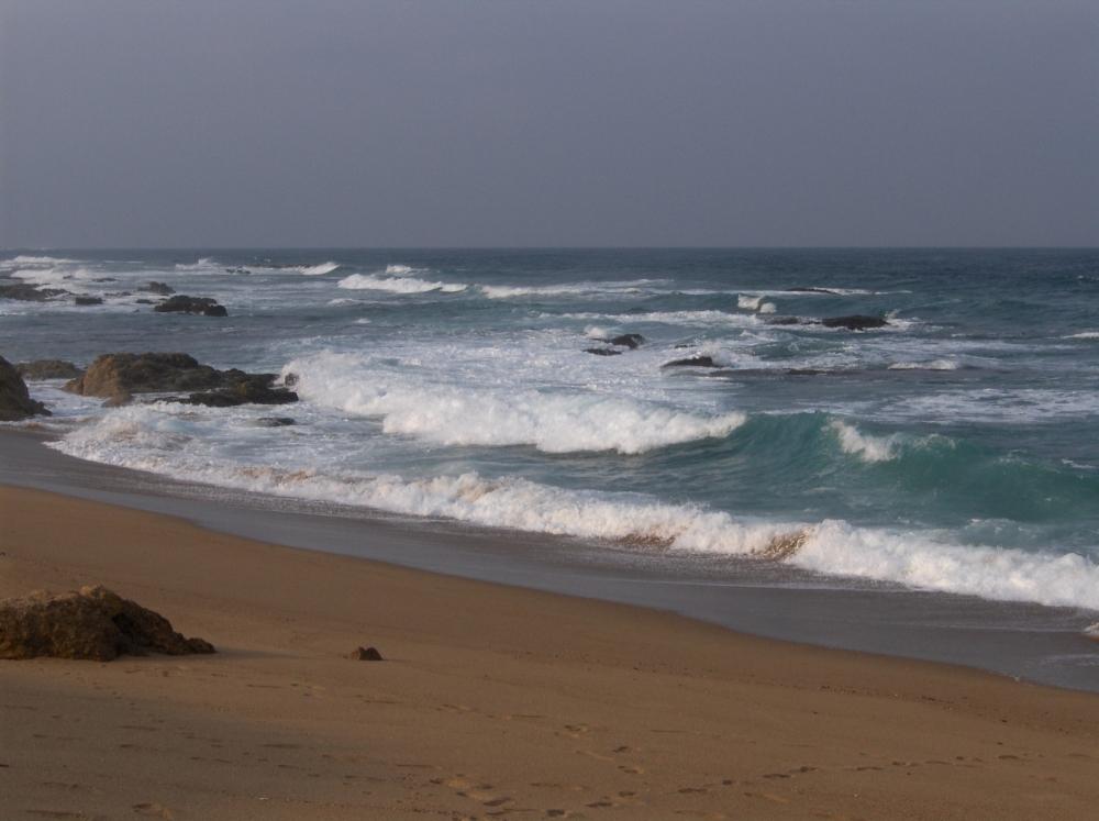 Indischer Ozean bei Port St. Johns