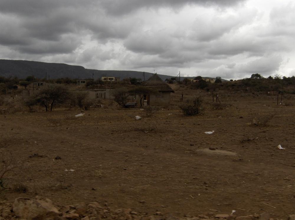 Kleines Dorf in Swasiland
