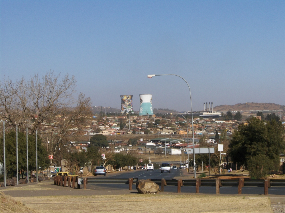 Orlando Power Station in Soweto