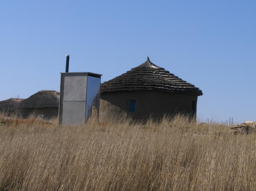 Rondavels in KwaZulu-Natal