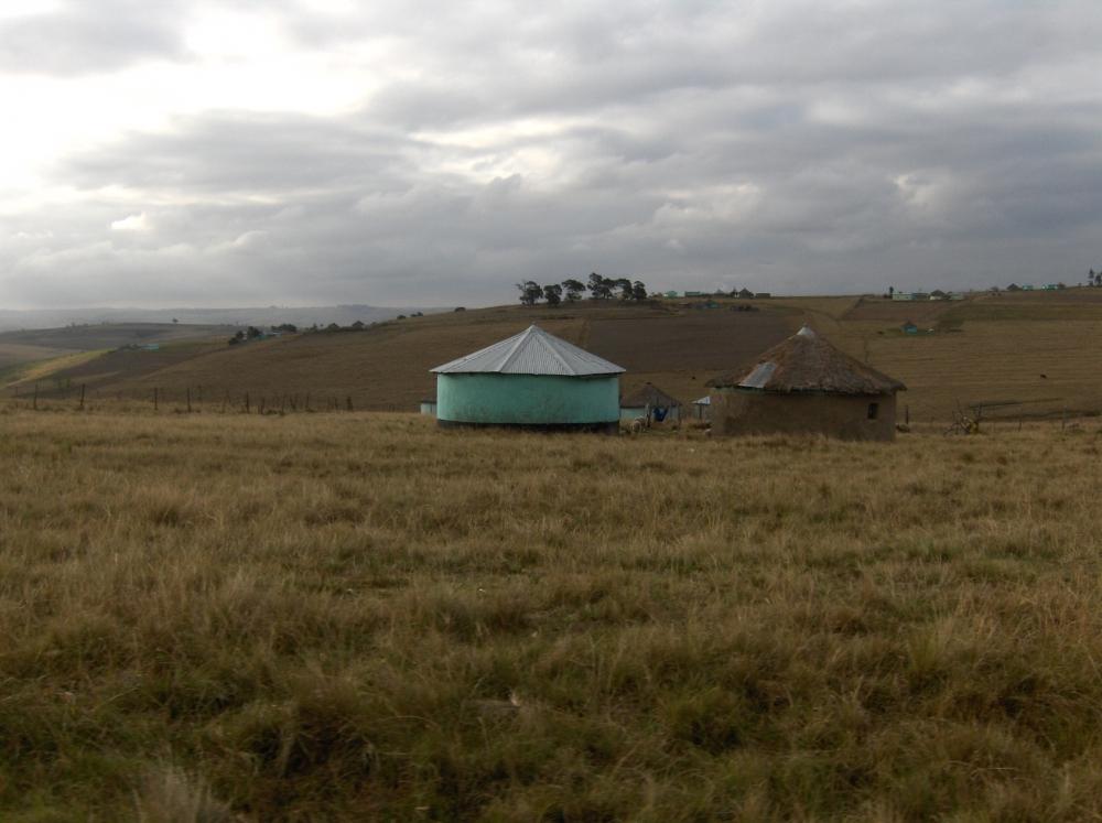 Rundhütten in der Transkei