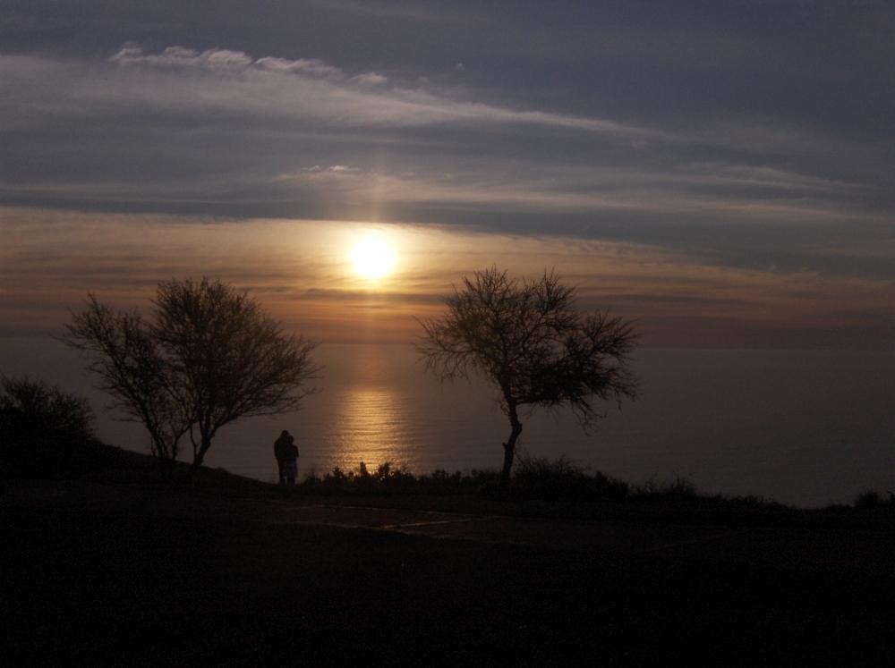 Sonnenuntergang auf Signal Hill