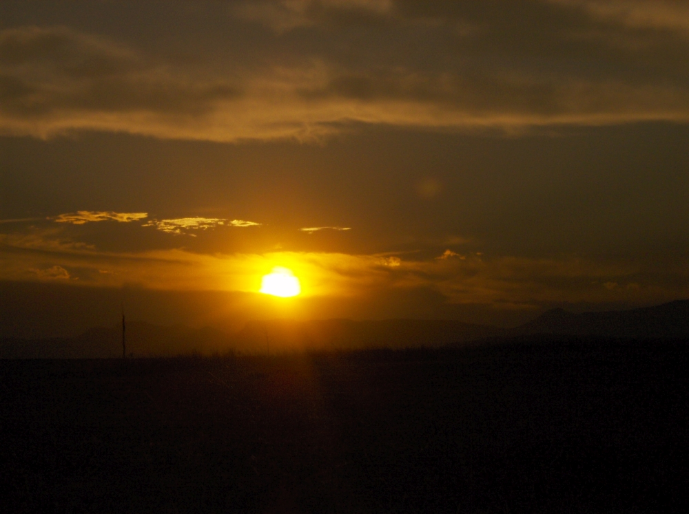 Sonnenuntergang in KwaZulu-Natal