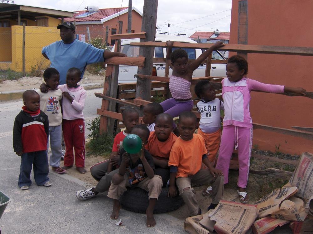 Südafrikanisch Kinder