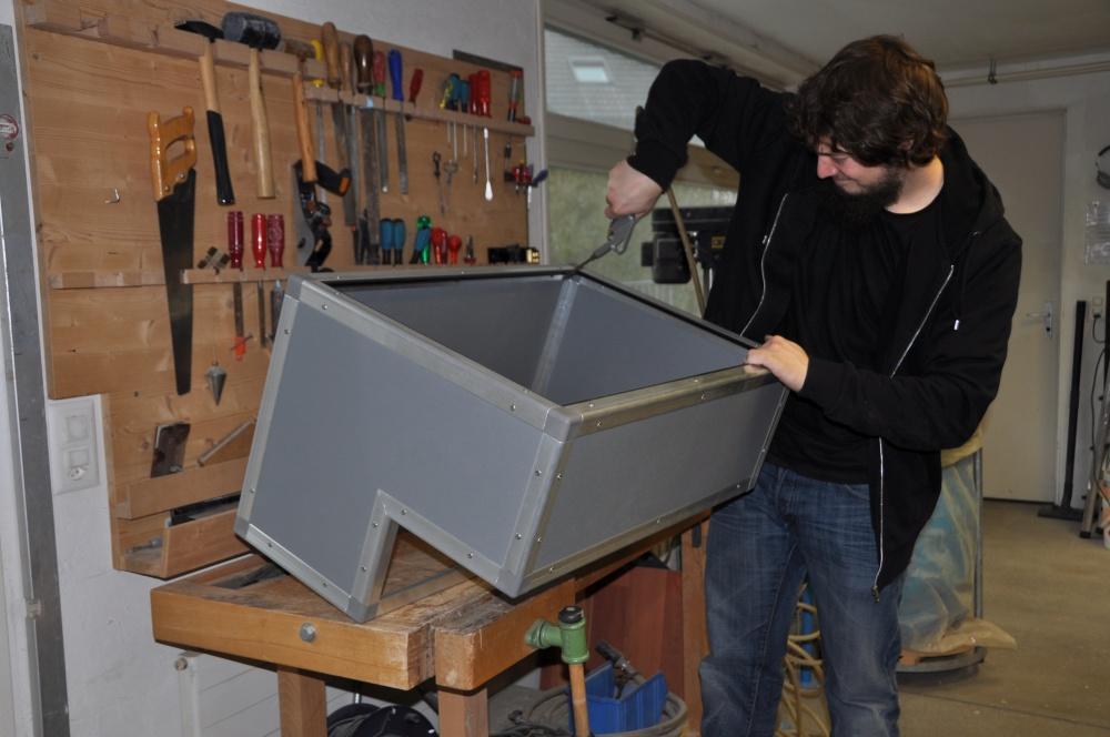 Casemaker Innenausbau Druckluft