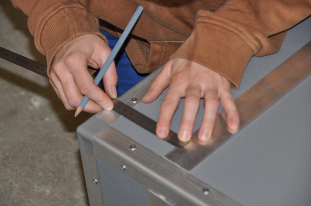 Casemaker Innenausbau genaue Arbeit