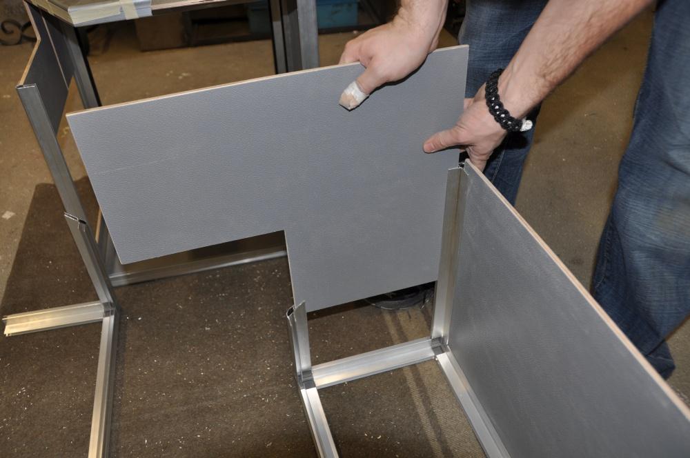 Casemaker Innenausbau Platten einfahren
