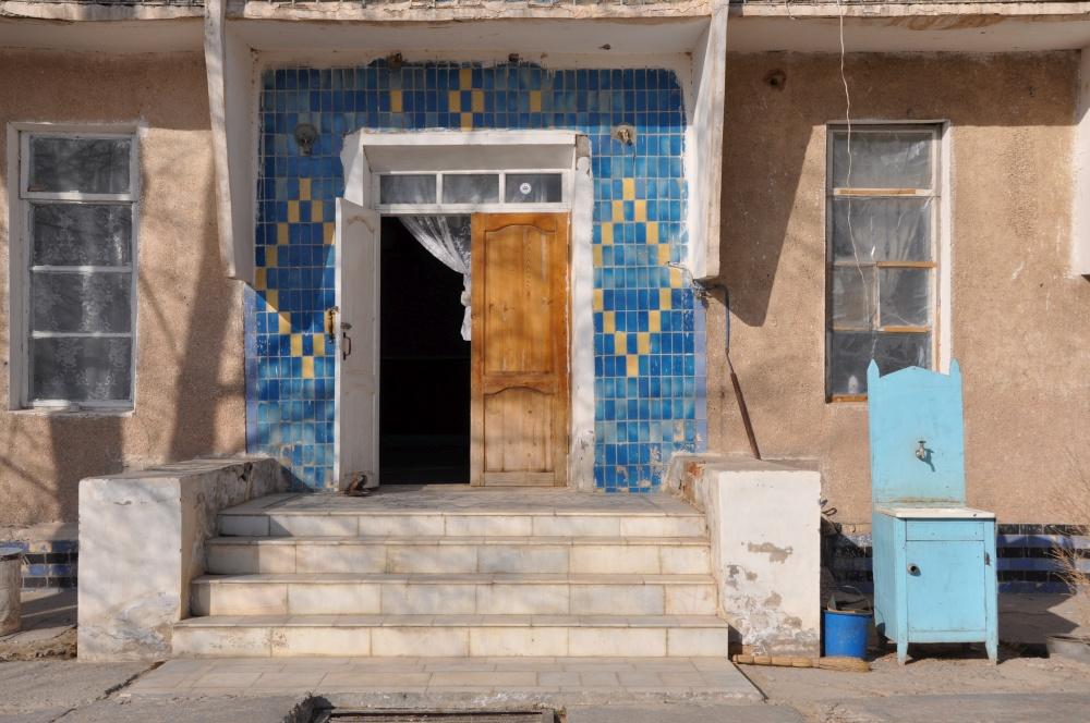 Hauseingang in Moynaq