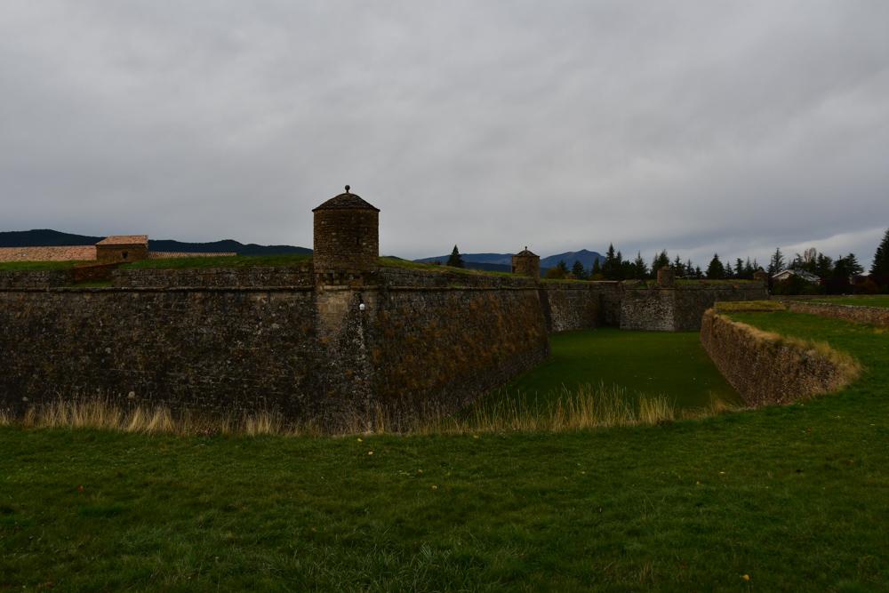 Citadel Jaca ein Türmchen Mauer