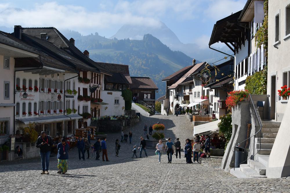 Greyerz Dorfplatz