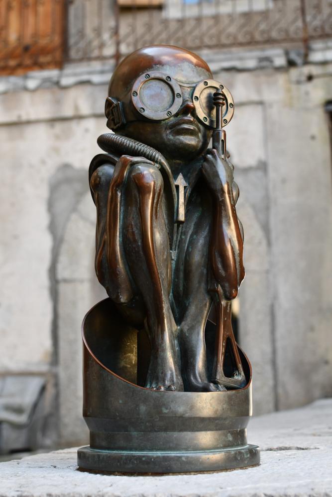 HR Giger Statue Museum