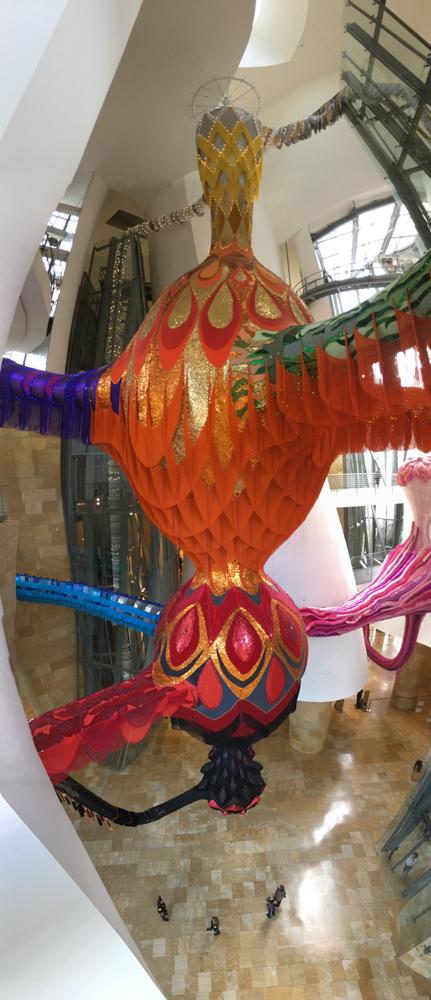 Kunstwerk Joana Vasconselos Guggenheim Museum Bilbao