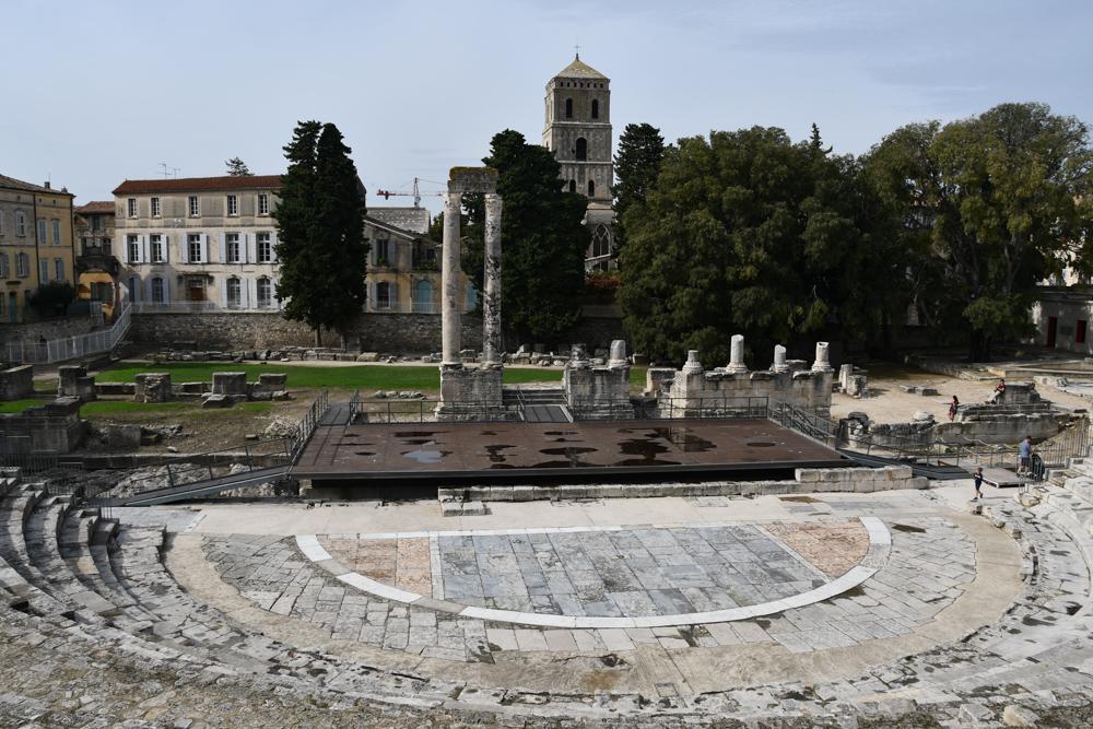Ruine Römisches Theater Arles