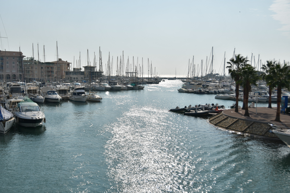 Yachthafen Fréjus Meer