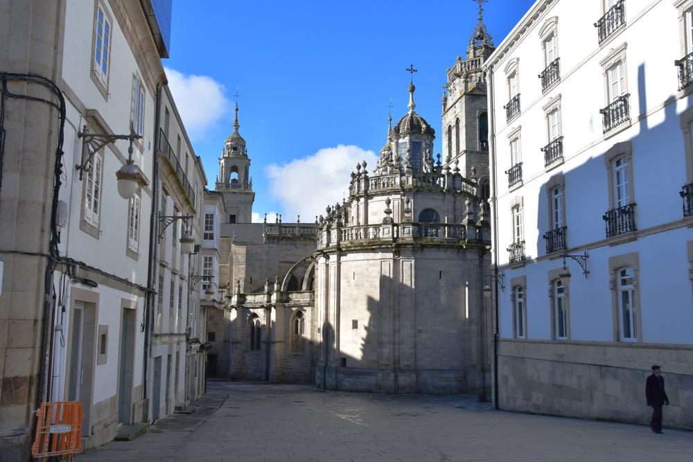 In der Altstadt Lugo Kirche